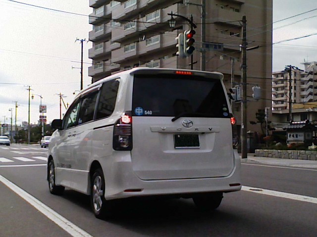 2008/07/13 VOXYのTAXI