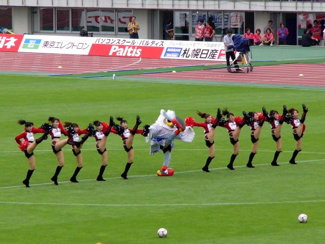 2008/07/20 J1第18節札幌対神戸戦@厚別