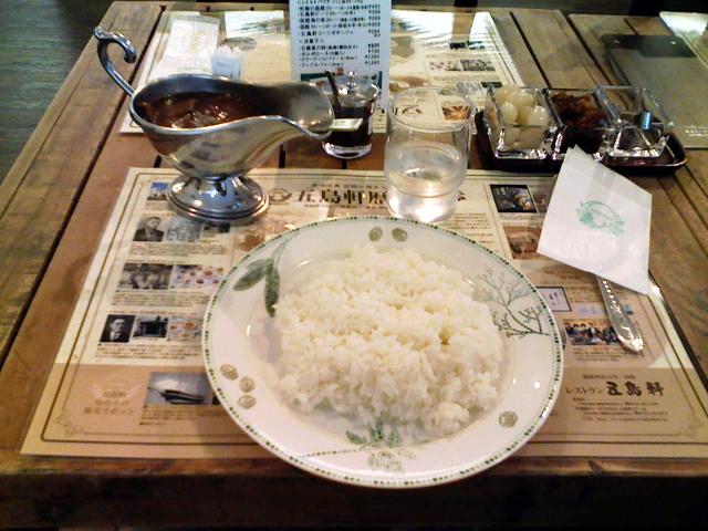 2008/07/26 五島軒函館カレーEXPRESS ハヤシライス