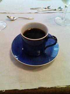2008/07/26 レストラン箕輪 コーヒー