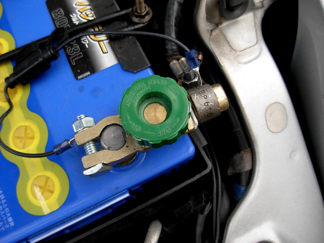 2008/08/10 FD3S バッテリーキルスイッチ