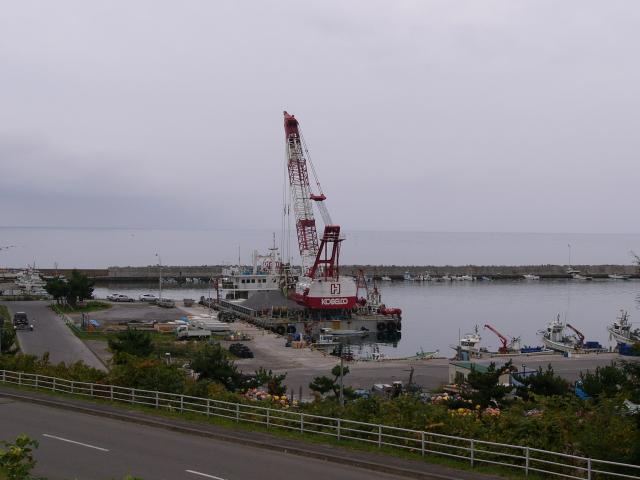 2008/09/21 道の駅 あぷた より港内を望む
