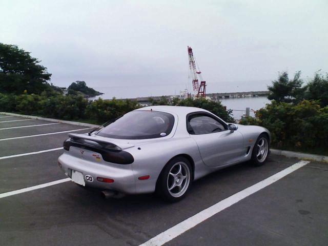 2008/09/21 道の駅 あぷた にて 内浦湾を望む