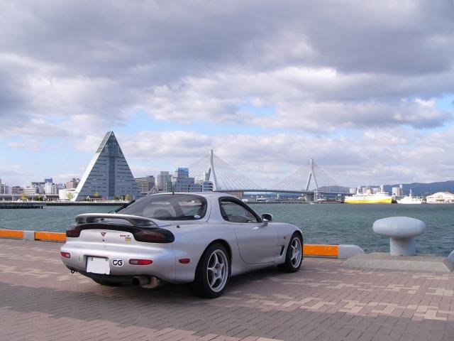 2008/10/12 青森港中央埠頭よりアスパム方面を望む