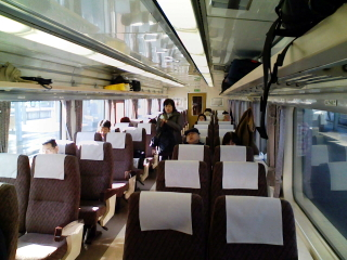 2008/11/03 北斗5号 車内