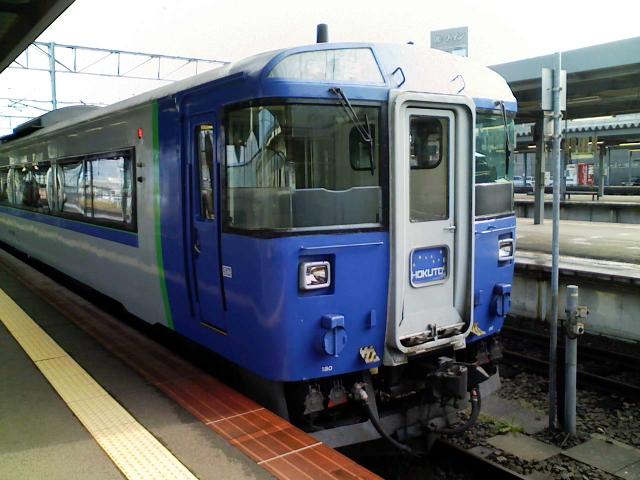 2008/11/03 北斗5号@函館駅