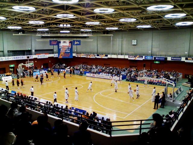 2008/11/16 レラカムイ北海道対パナソニックトライアンズ@函館市民体育館