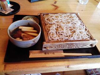 2008/11/16「蕎麦小屋」かしわロース