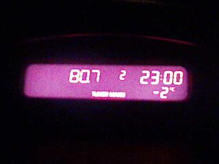 2008/11/21 ルーテシア 外気温計