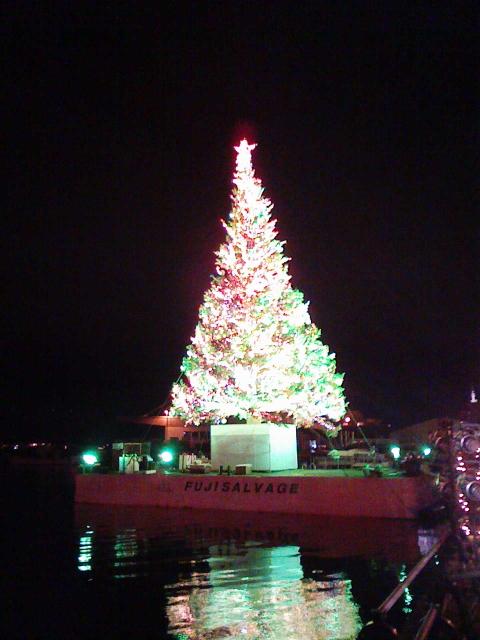 2008/12/01 2008はこだてクリスマスファンタジー 初日のツリー