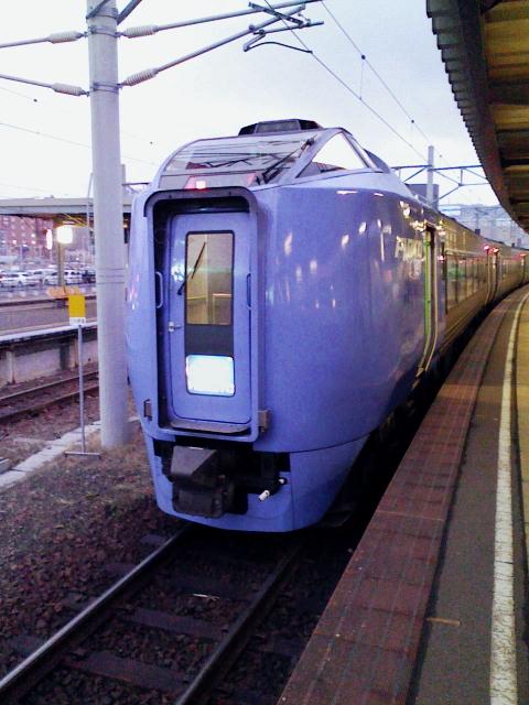 2008/12/09 キハ281 北斗1号 函館駅