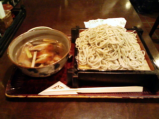 2008/12/21 札幌駅PASEO「八雲」鴨せいろ