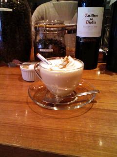 2008/12/31 cafe TUTU シナモンミルクティー