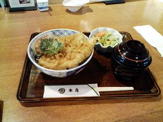 2009/01/24 丸南本店 豚天丼