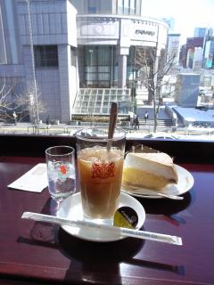 2009/03/08 札幌紀伊國屋書店内 イノダコーヒー