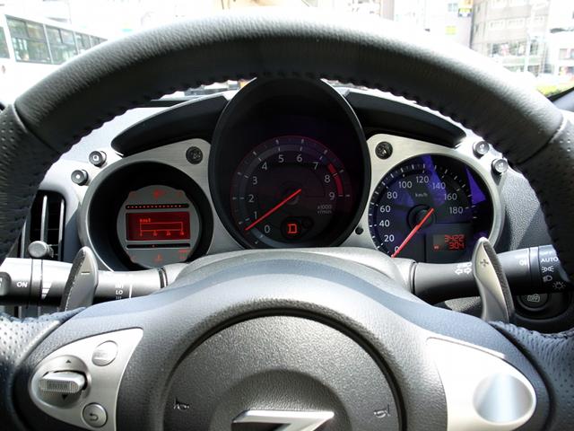 2009/05/23 Z34 VersionST インパネ