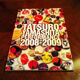 2009/04/25 TATSURO YAMASHITA PERFORMANCE 2008-2009