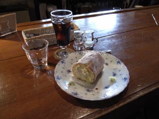 2009/04/29 「茶蔵」アイスコーヒーとあるめる