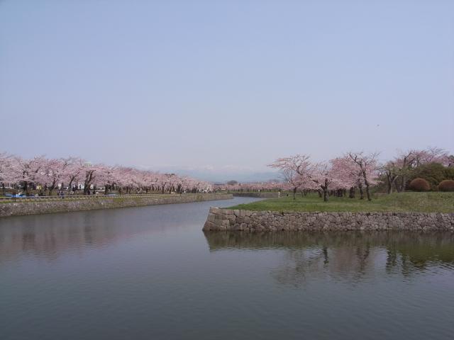 2009/05/01 五稜郭公園のお堀