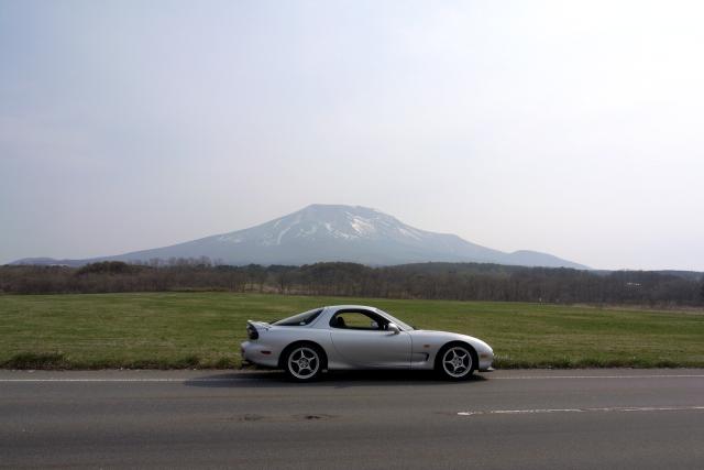 2009/05/02 駒ヶ岳を鹿部側から望む。
