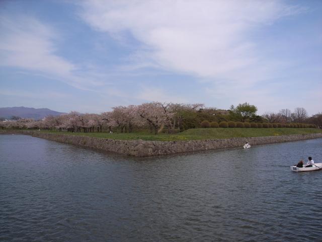 2009/05/06 五稜郭公園のお堀