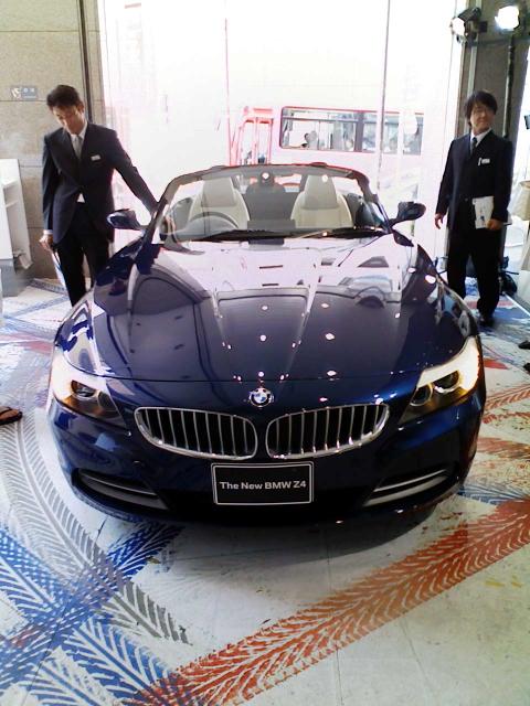 2009/05/10 BMW Z4@伊勢丹新宿メンズ館