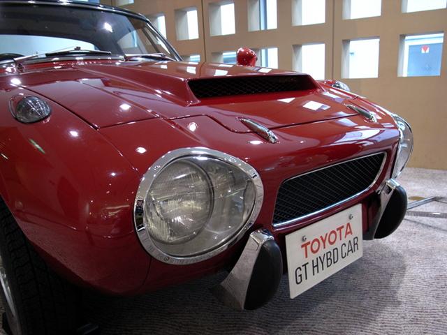 2009/06/06 トヨタ・スポーツ800ガスタービン・ハイブリッド エアインテーク