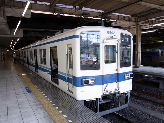 2009/06/07 東武野田線柏駅にて