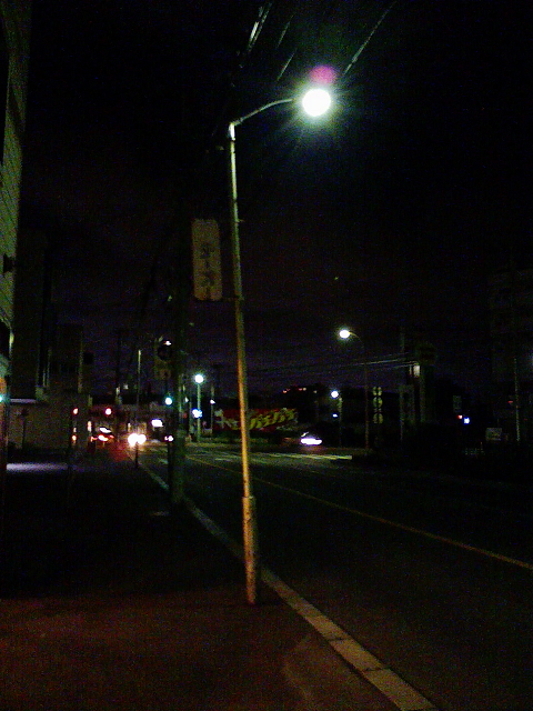 2009/07/10 五稜郭の街灯