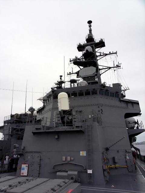 2009/08/03 DD-105いなづま 艦橋