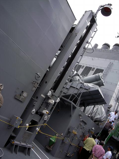 2009/08/02 DD-105いなづま ハイライン装置