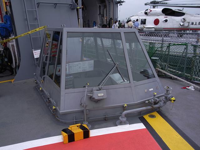 2009/08/02 DD-105いなづま 飛行甲板
