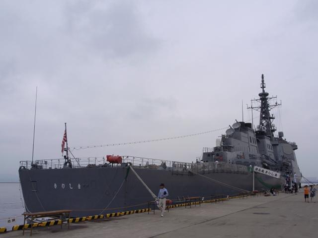 2009/08/02 DDG-174きりしま 右舷後方