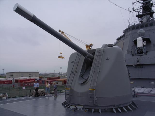 2009/08/02 DDG-174きりしま 127mm速射砲