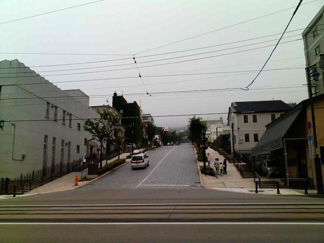 2009/08/08 きょうの八幡坂