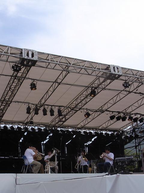 2009/08/08 DREAMBOX150 PMFブラス・アンサンブル・コンサート 演奏中