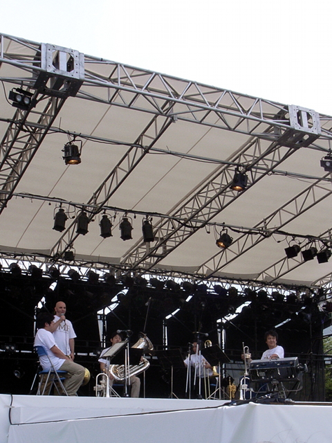 2009/08/08 DREAMBOX150 PMFブラス・アンサンブル・コンサート ハミル氏MC中