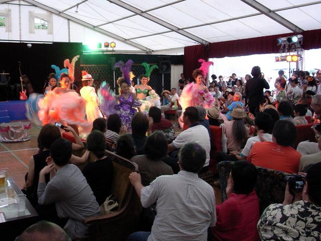 2009/08/12 コラージュ de Cabaret オープニングレビューショー