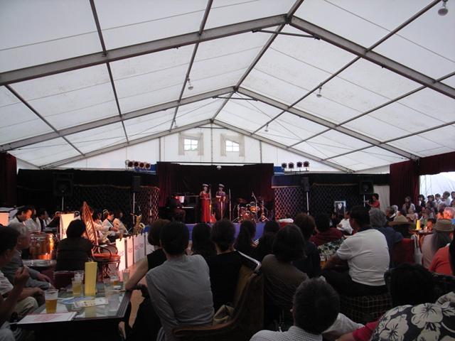 2009/08/12 コラージュ de Cabaret 開会宣言