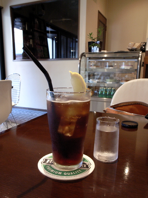 2009/08/15 cafe TUTU カフェソーダ