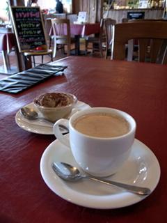 2009/08/23 八雲 DINNING PASTA Piatto アイスクリームとコーヒー