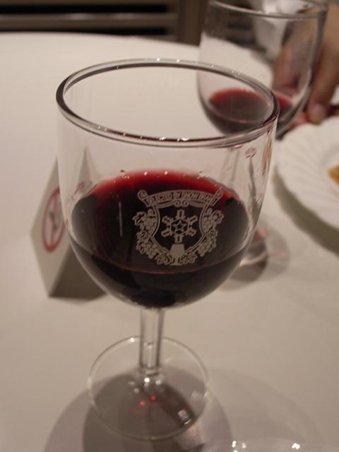 2009/09/12「秋バル」クラブ・ガスバリ・バー 「雪印」のワイングラス