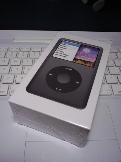 2009/09/15 iPod Classic 160GBパッケージ