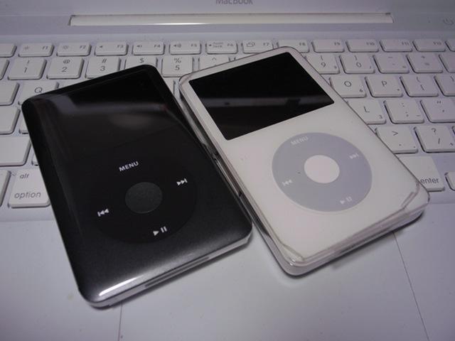 2009/09/15 iPod Classic 160GBと3G 60GB