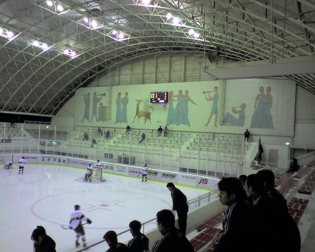 2009/09/20 大学交流戦苫小牧大会 慶応大対苫小牧駒大@王子スケートセンター