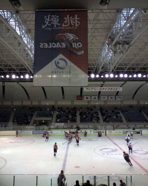 2009/10/11 王子イーグルス対High1(第3回戦)@苫小牧白島アリーナ