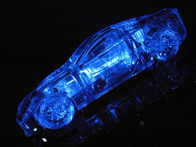 2009/11/01 レクサスLFA アクリルオブジェ(1)