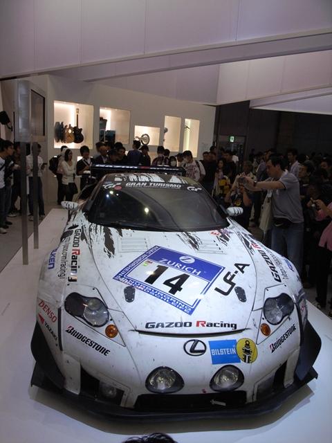 2009/11/01 レクサスLFAレースカー