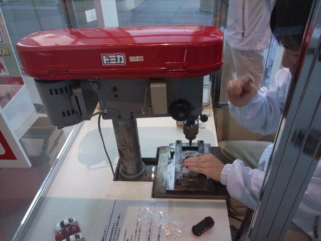 2009/11/07 日産グローバル本社ギャラリー「トミカ組み立て工場」