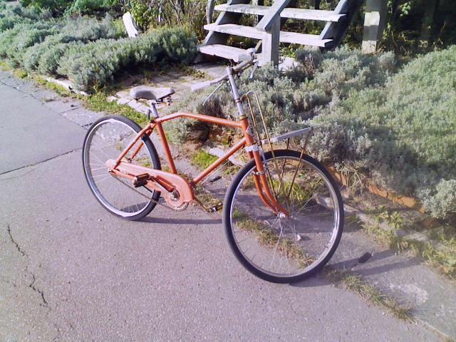 2008/11/09 大沼「WALD」店先の自転車